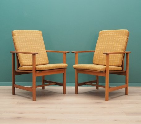 2 x Børge Mogensen arm chair, 1970s