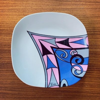 Plate by Emilio Pucci for Richard Ginori, 1960s