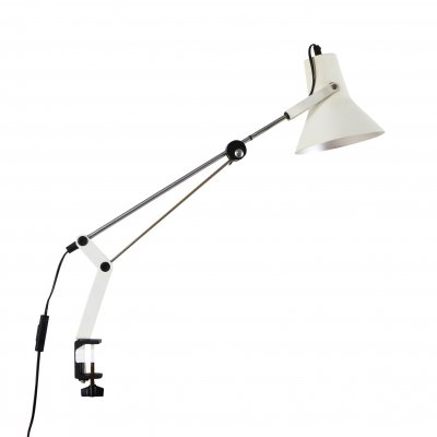 Adjustable clamp desk light, 1970s
