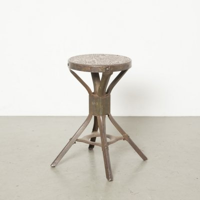 Evertaut factory work stool, 1950s