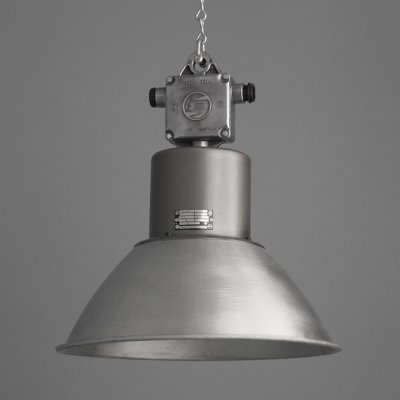 Eastern Bloc Industrial Pendant Lighting, 1960s