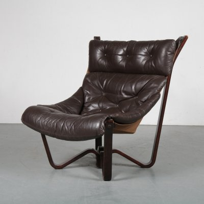 1970s 'Viking' chair by Jim Myrstad for Brunstad Møbelfabrikk