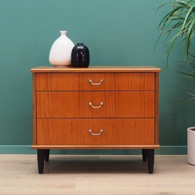 Mid century teak chest of drawers, 1960s