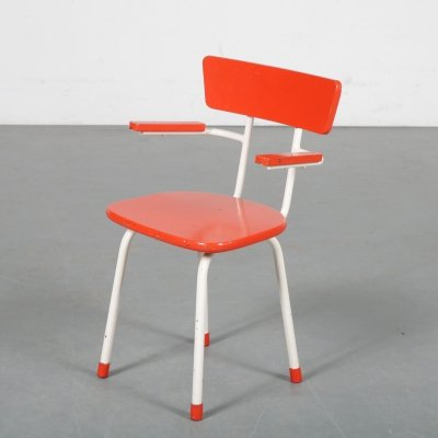 Vintage Children chair, the Netherlands 1950s