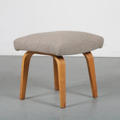Plywood foot stool by Cees Braakman for Pastoe, 1960s