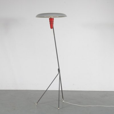 Louis Kalff 'NX38' Floor Lamp for Philips, Netherlands 1950s