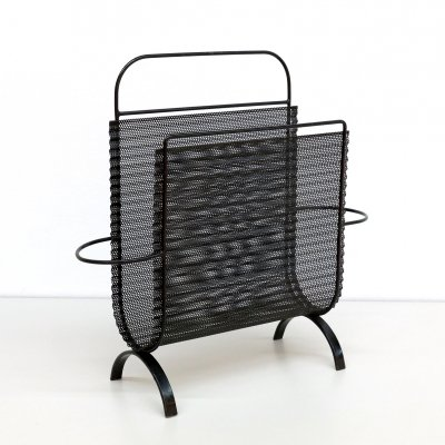 Magazine holder by Mathieu Matégot for Artimeta, 1950s