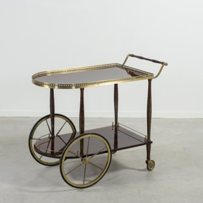 Italian Modern serving trolley/bar cart