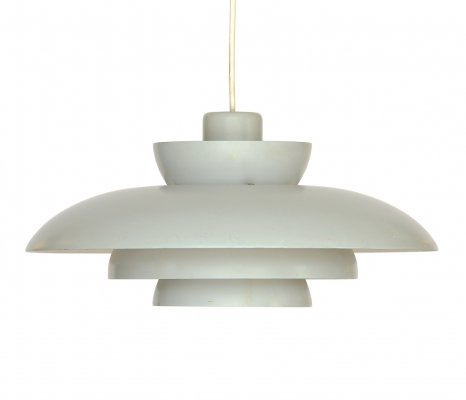 Pendant light 'Penta' by Jo Hammerborg for Fog & Mørup, Denmark 1960s
