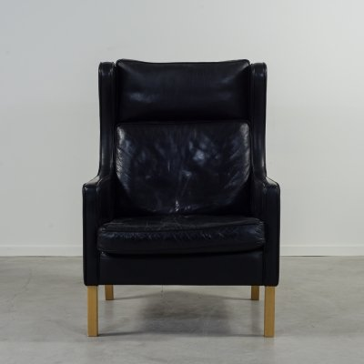 1970's Vintage Danish design 'Wing' armchair by Stouby