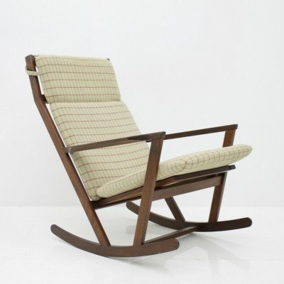 Teak Rocking Chair by Voul Volther for Frem Røjle, 1960s