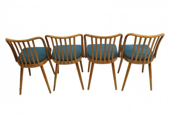 Set of 4 dining chairs by A. Šuman