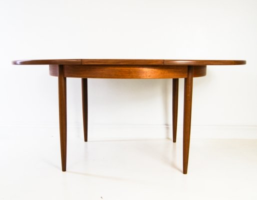 Teak Wood Extending Dining Table by G Plan