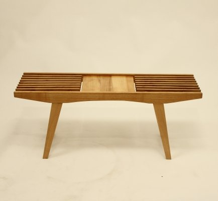 Wooden plant stand, 1960s