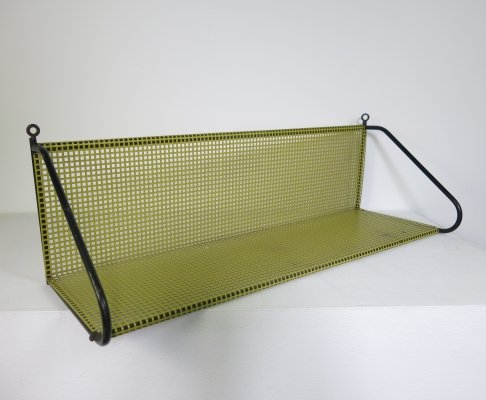 Perforated metal shelve by Tjerk Reijenga for Pilastro, 1960s