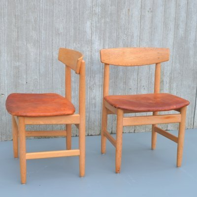 Pair of Børge Mogensen 'Öresund' chairs for Karl Andersson & Söner