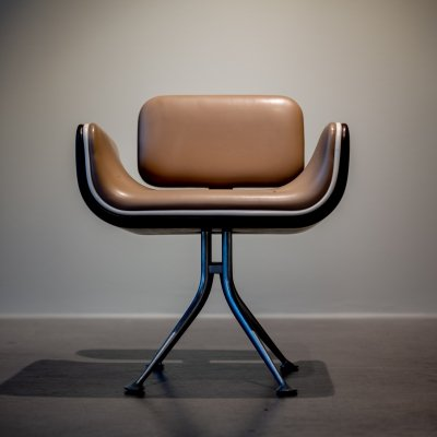 Braniff-Chair / Model 66307 arm chair by Alexander Girard for Herman Miller, 1960s