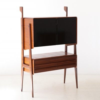 Italian Highboard cabinet manufactured in Cantu, 1950s