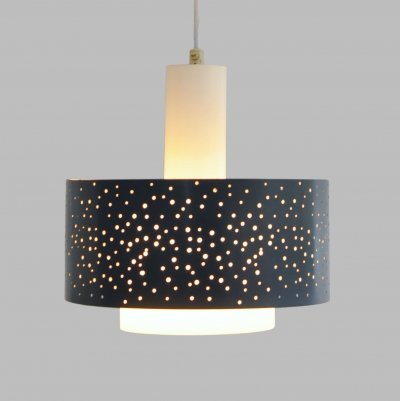 Starry Night hanging lamp by Ernst Igl for Hillebrand, 1960s
