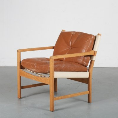 1960s Norwegian lounge chair