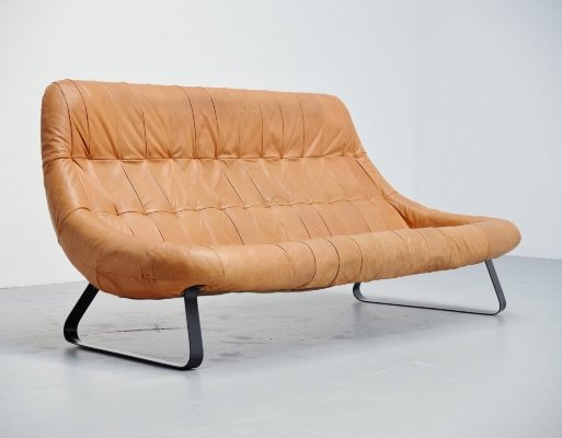 Percival Lafer Earth lounge sofa, Brazil 1970