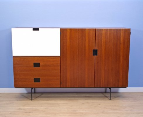 Japanese series cabinet CU09 in teak by Cees Braakman for Pastoe, 1958