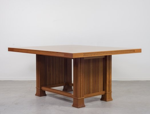 Frank Lloyd Wright for Cassina 'Husser' table, 1990s