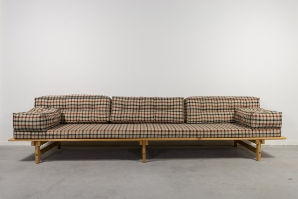 Mid-Century lounge sofa-daybed by Borge Mogensen, 1960's