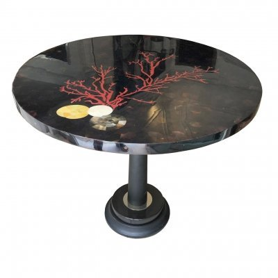 1960's Laudarte Coffee Table with Mosaic Top