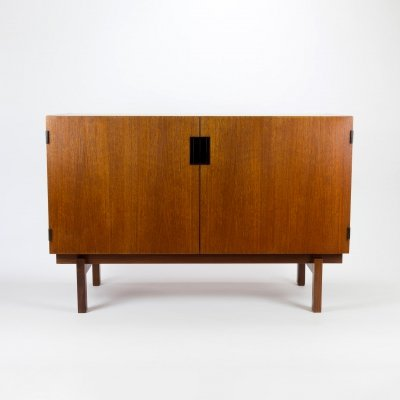 Teak DU-02 Japan Series Sideboard by Cees Braakman for Pastoe, Netherlands 1950