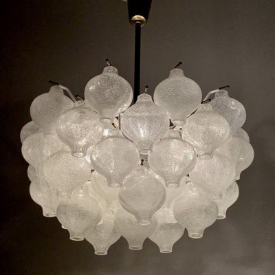 Tulipan hanging light designed & made by Kalmar, 1960s