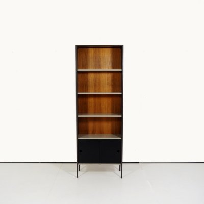 Sheet metal bookcase by Tjerk Reijenga for Pilastro