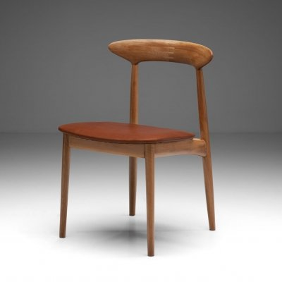 Kurt Østervig Walnut Dining Chair, Denmark 1950s