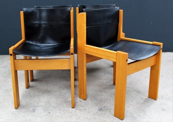 4 x vintage dining chair, 1970s