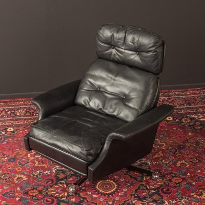 Leather Armchair from the 1960s