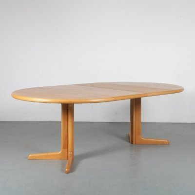 1960s Extendable dining table by Niels Otto Møller for Gudme Mobler, Denmark