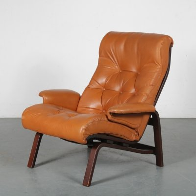 1970s Lounge chair by Westnofa, Norway