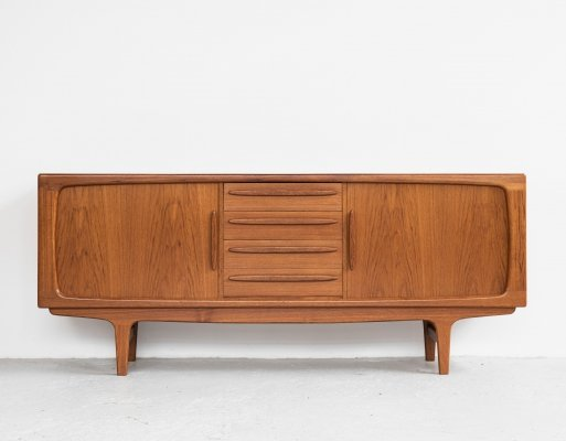 Midcentury Danish sideboard in teak by Johannes Andersen for Silkeborg