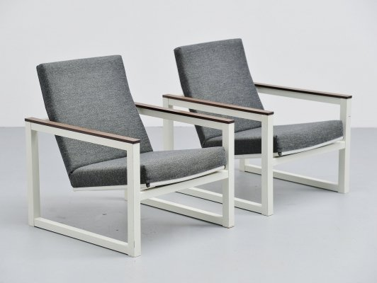 Friso Kramer & Tjerk Reijenga lounge chairs for Pilastro, 1965