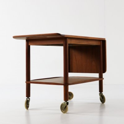 Danish design serving trolley by Johannes Andersen