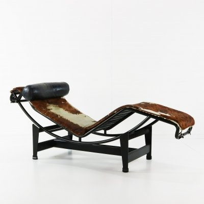 LC4 daybed by Le Corbusier & Pierre Jeanneret for Cassina, 1970s