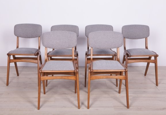 Set of 6 Boomerang Dining Chairs from Gościcińskie Furniture Factory, 1960s