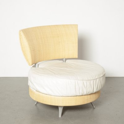 Mutabilis easy chair by Giuseppe Viganò for Bonacina Pierantonio, 1990s