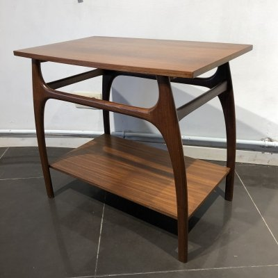 Teak Side Table by Louis Van Teeffelen for Wébé, 1960s