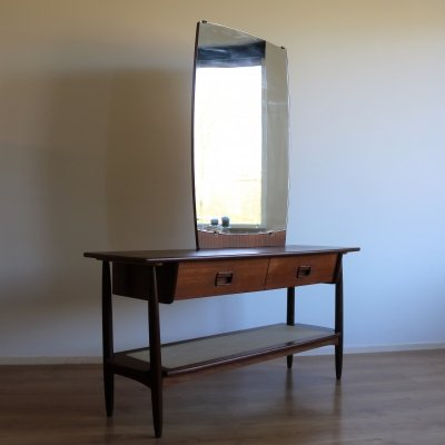Vanity cabinet with mirror, 1960s