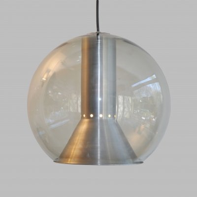 Globe hanging lamp by Frank Ligtelijn for Raak Amsterdam, 1970s