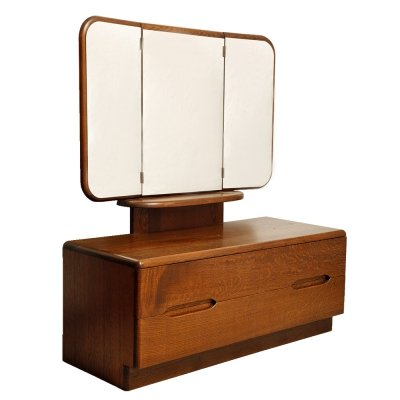 Dressing table in a Scandinavian style with two deep drawers