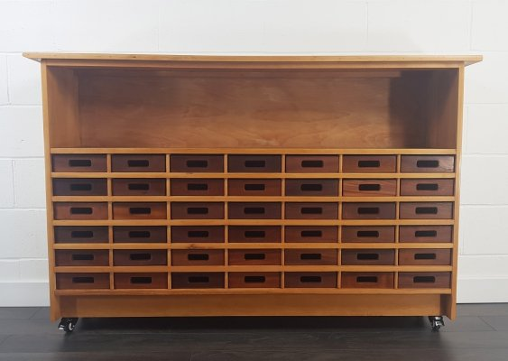 Haberdashery Chest of Drawers, 1950s