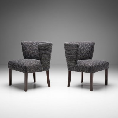 Pair of 'Model 1514' Chairs by Fritz Hansen, Denmark 1940