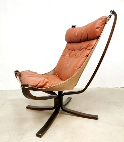 Vintage design Falcon chair by Sigurd Ressell for Vatne Mobler